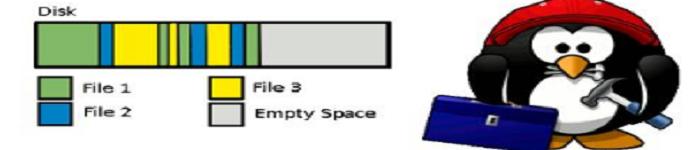 linux没有磁盘碎片整理功能,如何办呢?