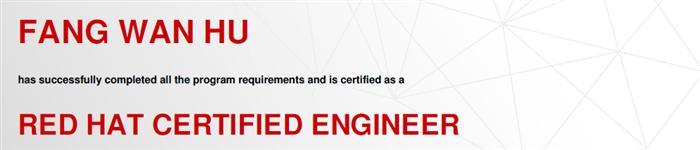 捷讯:方万户10月31日上海双满分通过RHCE认证。