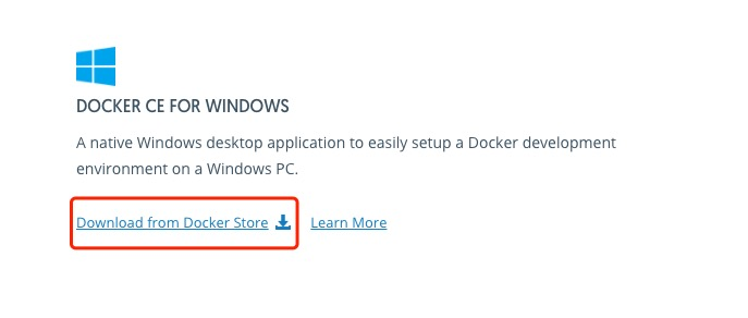 Windows Install DockerWindows Install Docker