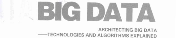 《架构大数据——大数据技术及算法解析》pdf电子书免费下载