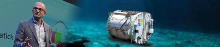 微软或将大力发展水下数据中心