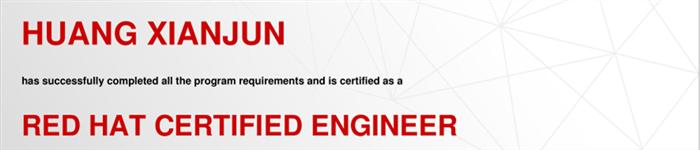 捷讯:黄显均11月5日北京顺利通过RHCE认证。