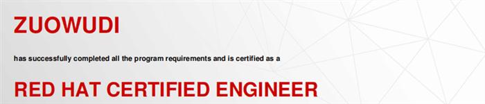 捷讯:左无迪11月24日广州顺利通过RHCE认证。