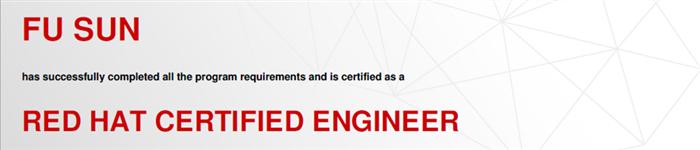 捷讯:孙富11月26日北京顺利通过RHCE认证。