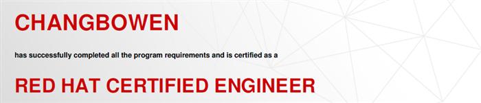 捷讯:常博文11月3日北京顺利通过RHCE认证。