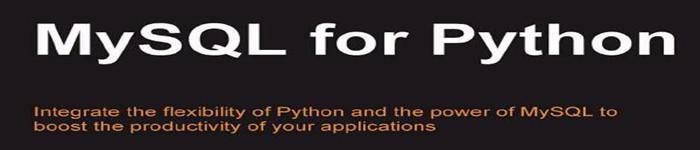 《MySQL for Python》pdf电子书免费下载