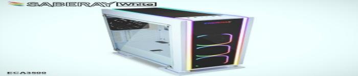 ENERMAX近日宣布推出全新的RGB游戏机箱SABREAY White