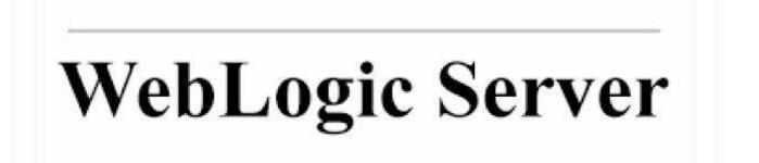静默文件安装安装WebLogic