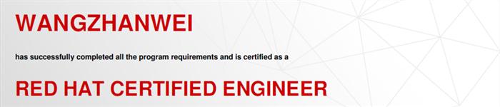 捷讯:王占伟12月25日北京顺利通过RHCE认证。