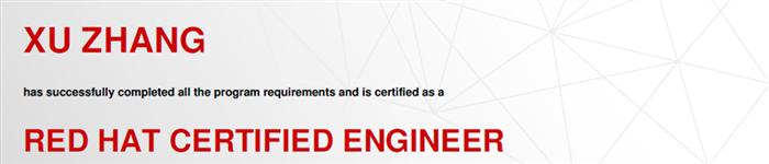 捷讯:张旭12月28日北京顺利通过RHCE认证。