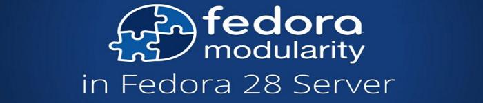 Fedora 28 服务器版的模块化?