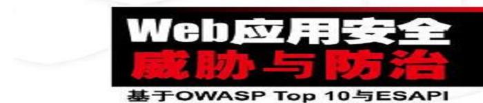 《Web应用安全威胁与防治:基于OWASP Top 10与ESAPI》pdf电子书免费下载