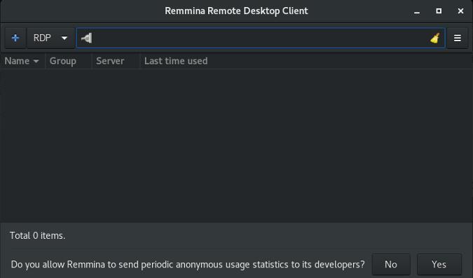 如何使用Remmina从 Linux 上连接到远程桌面如何使用Remmina从 Linux 上连接到远程桌面