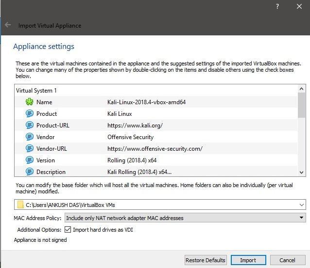 如何在 VirtualBox 上安装 Kali Linux如何在 VirtualBox 上安装 Kali Linux