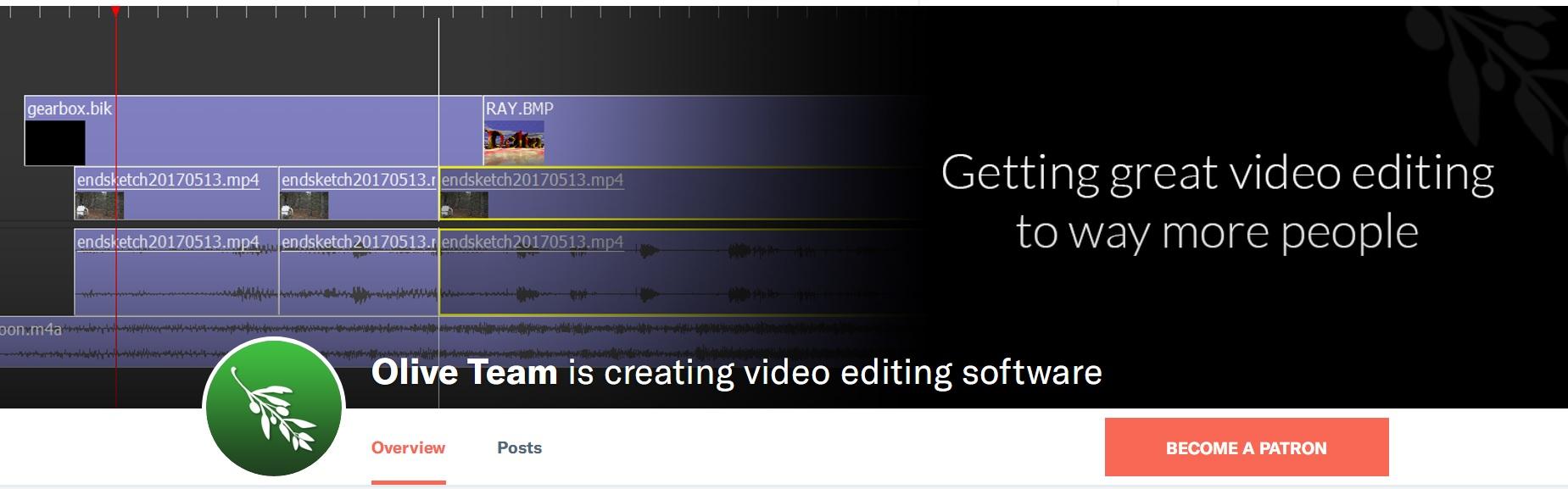 Linux 上的开源视频剪辑软件OliveLinux 上的开源视频剪辑软件Olive