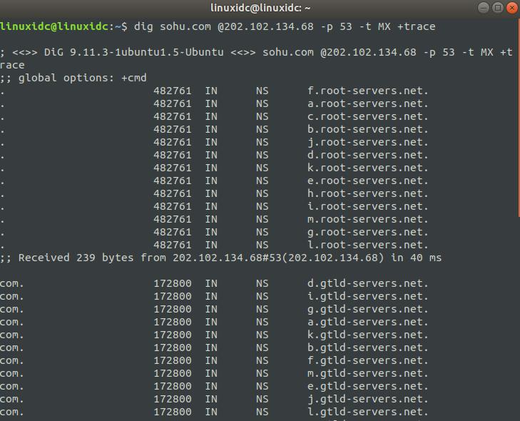 Linux下解析域名命令-dig 命令使用详解  《Linux就该这么学》