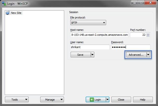 winscp中使用sudo的方法winscp中使用sudo的方法