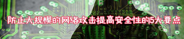 防止大规模的网络攻击提高安全性的5大要点