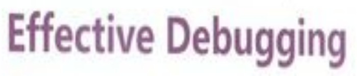 《Effective+Debugging++软件和系统调试的66个有效方法》pdf电子书免费下载