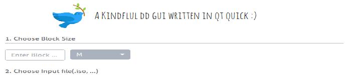 支持 dd 命令的简单的 GUI 实用程序