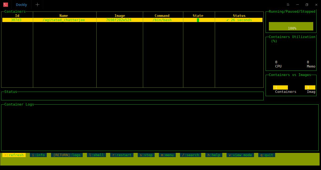 如何安装 Dockly 以及如何从命令行管理 Docker 容器如何安装 Dockly 以及如何从命令行管理 Docker 容器
