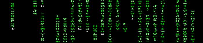 Linux实现黑客帝国炫酷效果