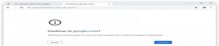 Google Chrome 浏览器开始阻止 URL 网址?