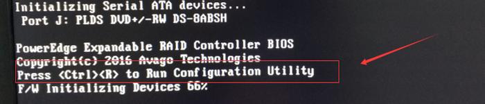 Dell服务器配置RAID1+RAID0磁盘阵列