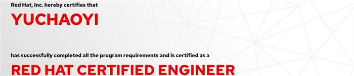 捷讯:于超艺7月15日北京顺利通过RHCE认证。