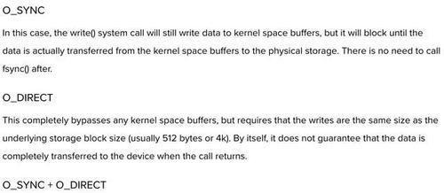 Linux:保证数据安全落盘Linux:保证数据安全落盘