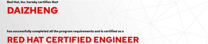 捷讯:代正8月6日北京顺利通过RHCE认证。