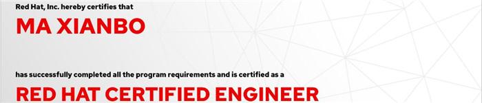 捷讯:马先波8月9日上海顺利通过RHCE认证。