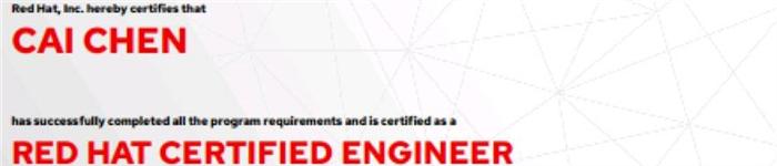 捷讯:蔡辰8月6日北京顺利通过RHCE认证。