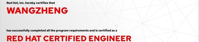 捷讯:王铮9月30日北京顺利通过RHCE认证。