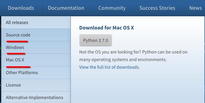 Python3 环境搭建Python3 环境搭建