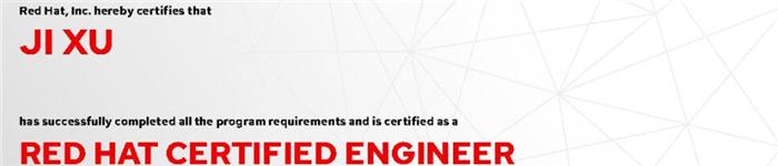 捷讯:纪旭10月28日北京顺利通过RHCE认证。