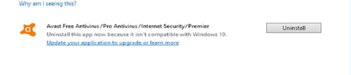 Windows 10 v1909发不兼容公告