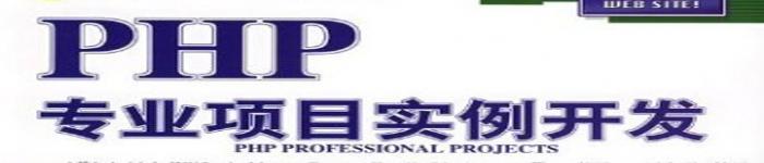 《PHP专业实例开发》pdf电子书免费下载