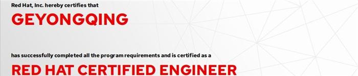 捷讯:青云志11月26日北京顺利通过RHCE认证。