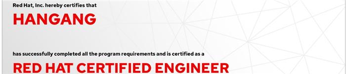 捷讯:韩刚11月27日北京顺利通过RHCE认证。
