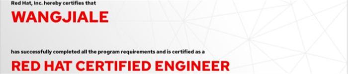 捷讯:王家乐1月10日北京顺利通过RHCE认证。