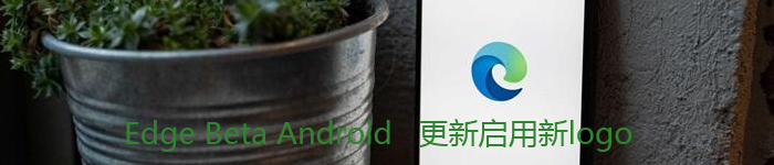 Edge Beta Android版更新已启用新图标