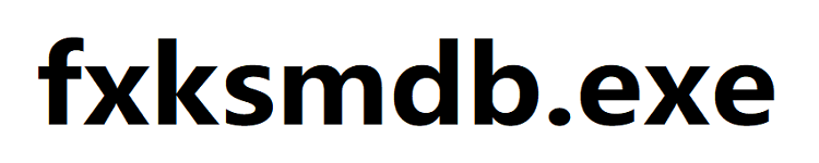 fxksmdb.exe 是什么进程?
