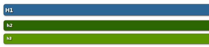 比较好看的css 自定义样式(标题 h1 h2 h3)比较好看的css 自定义样式(标题 h1 h2 h3)