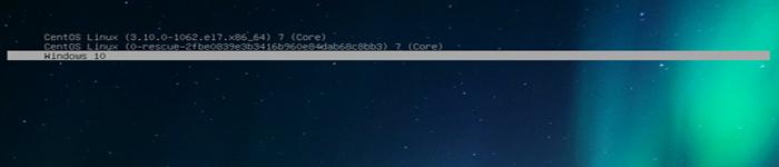 如何在Centos7中添加GRUB2启动项