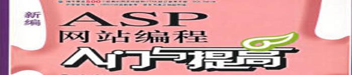 《新编ASP网站编程入门与提高》pdf电子书免费下载