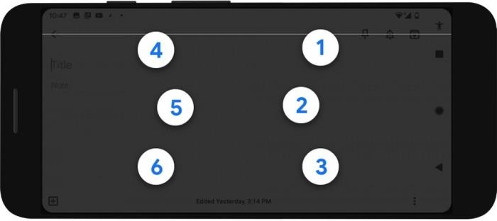 Android系统整合Talkback盲文键盘Android系统整合Talkback盲文键盘