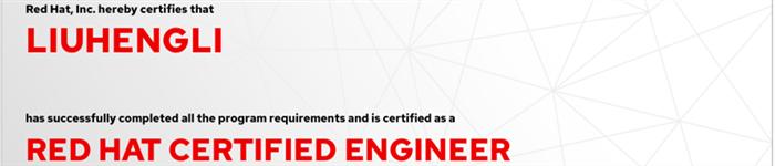 捷讯:刘恒利1月19日北京顺利通过RHCE认证。
