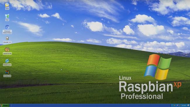 情怀所致:树莓派基于Linux的Windows XP现已可用情怀所致:树莓派基于Linux的Windows XP现已可用