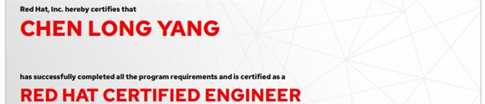 捷讯:杨晨龙5月25日北京顺利通过RHCE认证。